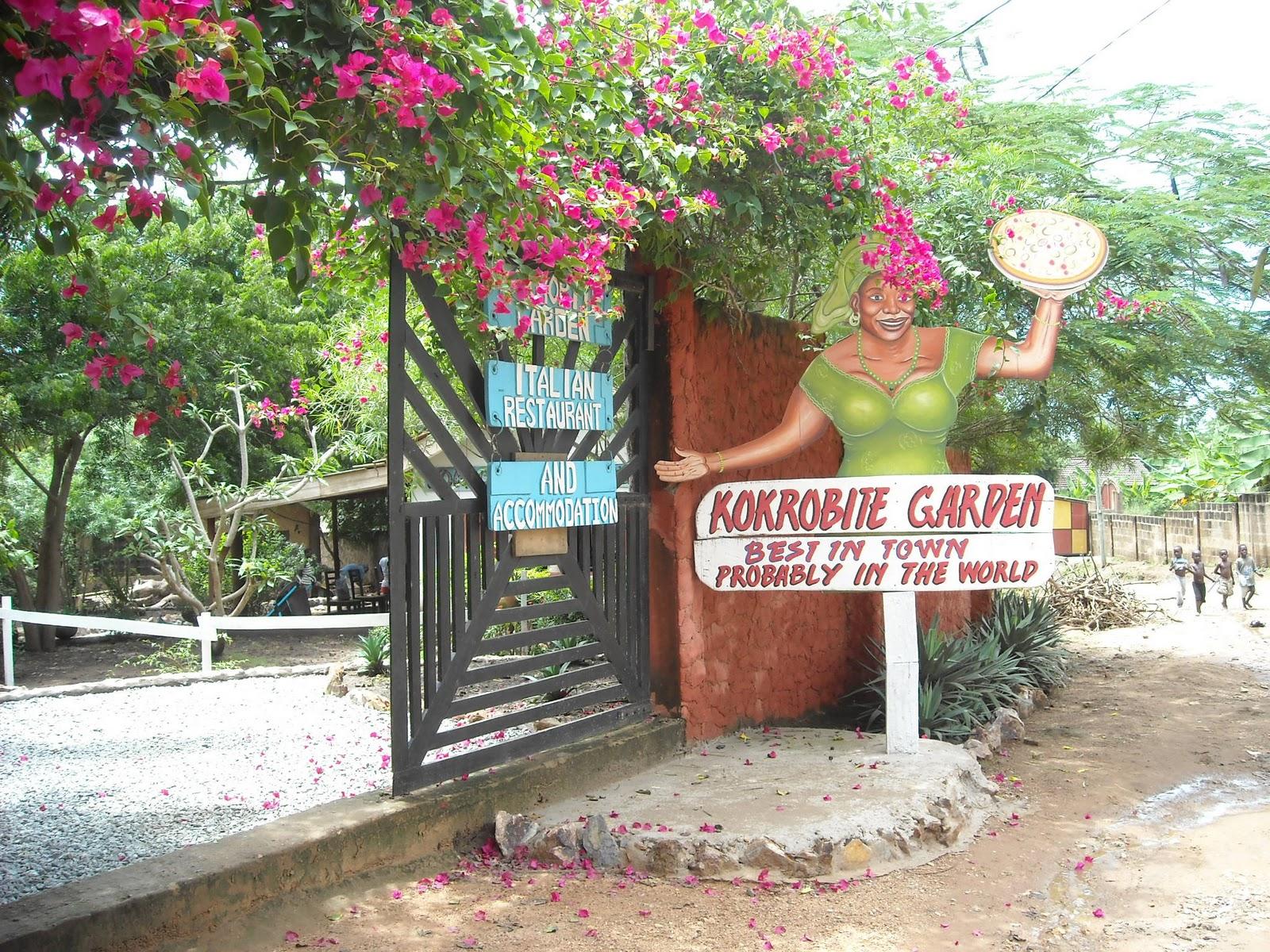 kokrobite garden is a small hotel resort located near the beach